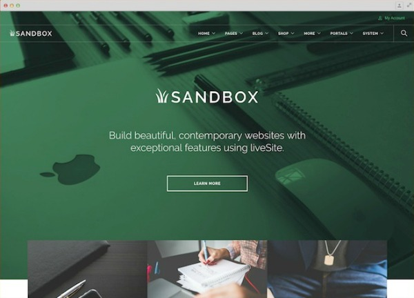 Launch Sandbox Site