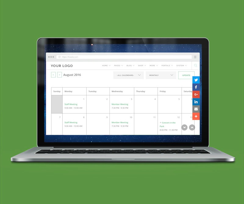 Calendaring & Scheduling Features